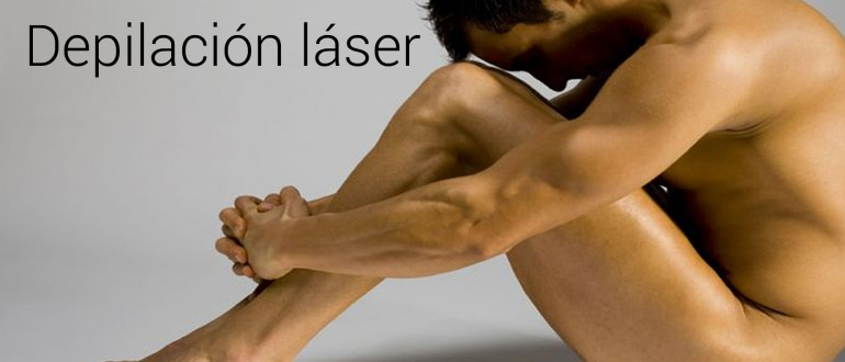 Depilación láser masculina